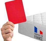 Matelas bébé Carton rouge pour le made in France